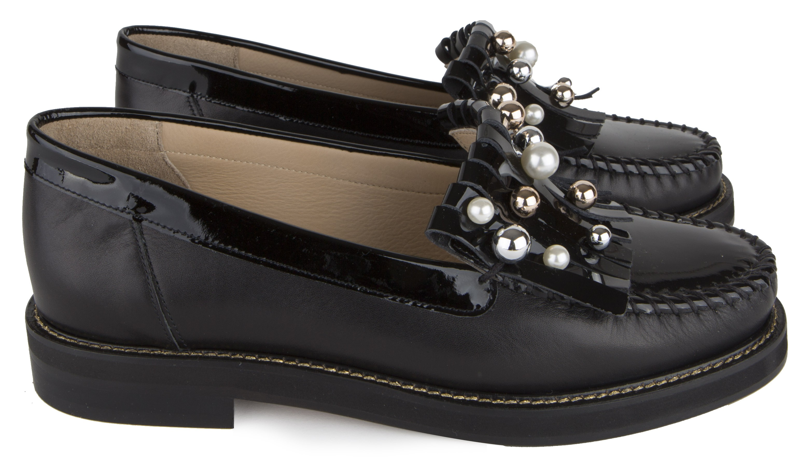 Nos Cuir Chaussures Maurice Manufacture Femme En Nmnv80w