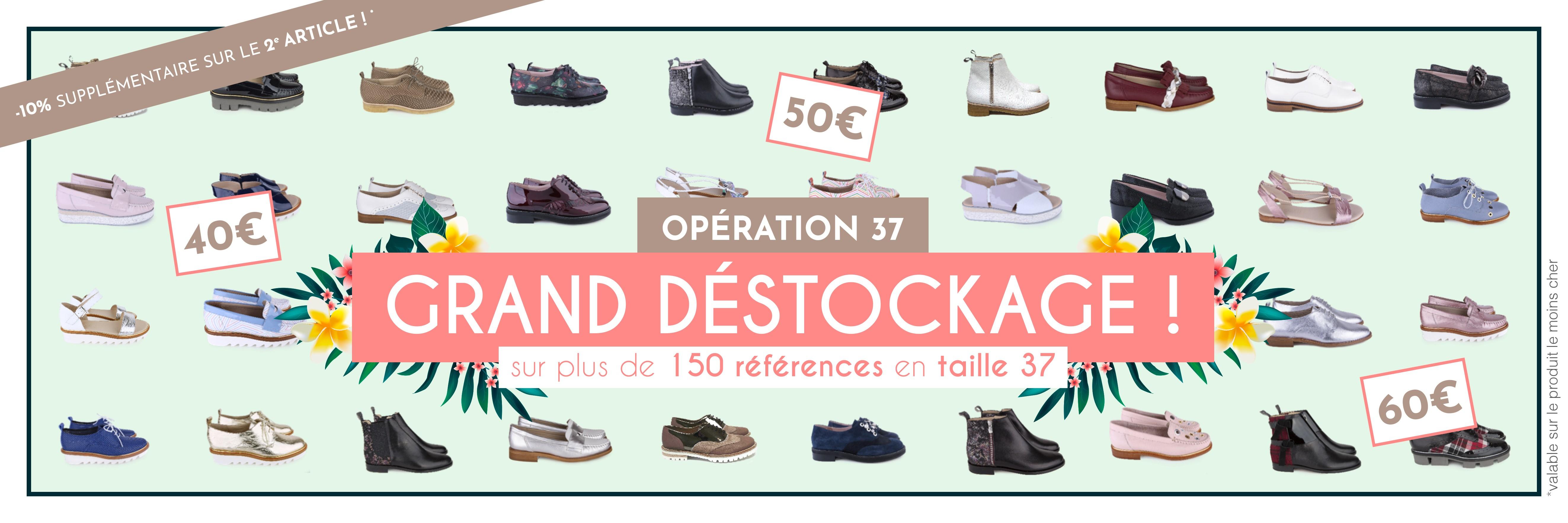 OPÉRATION 37 - Grand destockage